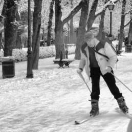 La nevada del 9 de enero de 2009