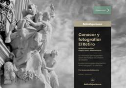 Guía interactiva RetiroExperience | Conocer y fotografiar El Retiro